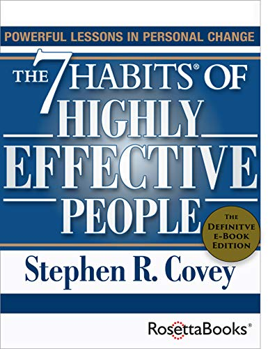 Covey, Stephen R. The 7 Habits of Highly Effective People 4