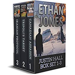 Justin Hall Spy Thriller Series Box Set Books 1-3: Action, Mystery, International Espionage and Suspense