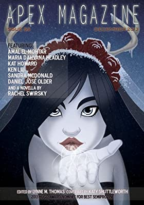 Table of Contents: Apex Magazine #55 (December 2013)
