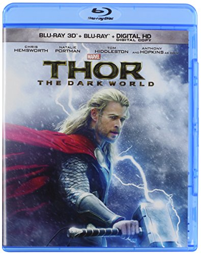 Thor: The Dark World 3-D version cover