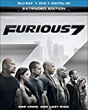 Furious 7 (Blu-ray + DVD + Digital HD) - September 15