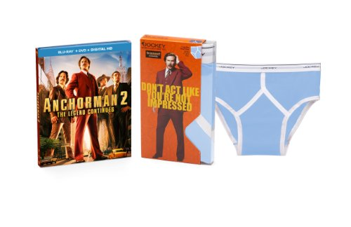 Anchorman 2: The Legend Continues  DVD