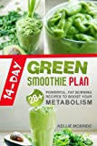 Free Kindle Book : 14-Day Green Smoothie Plan: 28+ Powerful, Fat Burning Recipes To Boost Your Metabolism (INCLUDED: 14-Day Plan)