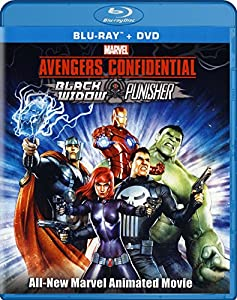 WINNERS: Blu-Ray Copy of AVENGERS CONFIDENTIAL: BLACK WIDOW & PUNISHER