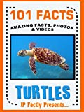 Free Kindle Book : 101 Facts... Turtles! Turtle Book for Kids. (101 Animal Facts 18)