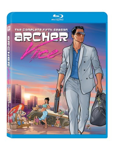 Archer: Season 5 [Blu-ray] DVD