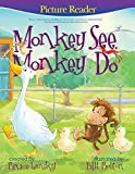 Free Kindle Book : Monkey See, Monkey Do: A PictureReading Book for Young Children