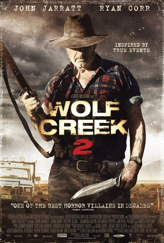 Wolf Creek 2  DVD