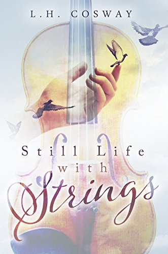 Book Still Life with Strings - man with a violin to his chin, eyes closed
