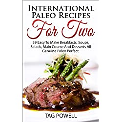 International Paleo Recipes For Two