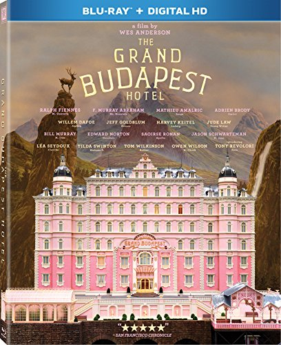 The Grand Budapest Hotel [Blu-ray] DVD