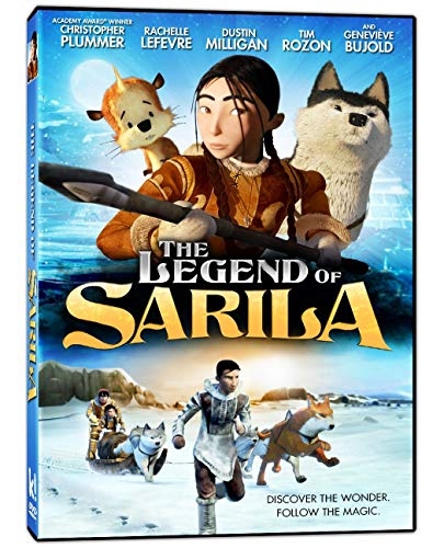The Legend of Sarila DVD