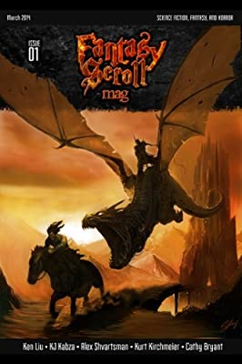 Table of Contents: Fantasy Scroll Magazine Issue #1