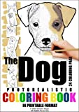 Free Kindle Book : The Dog - Photorealistic Coloring Book