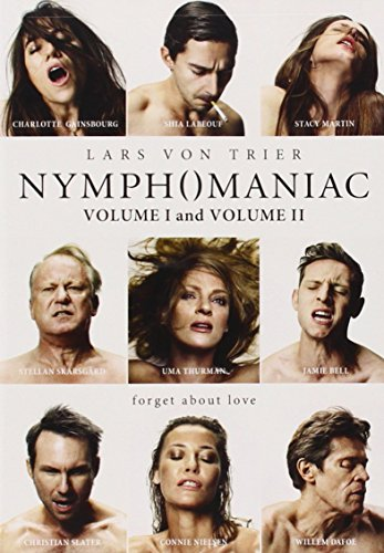 Nymphomanic Vol 1 & Vol 2 DVD