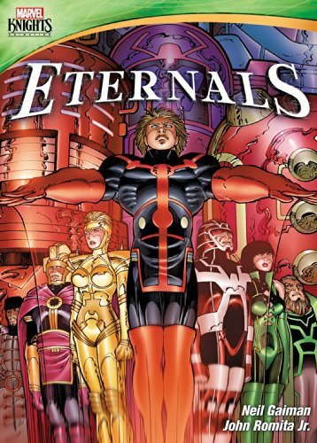 Marvel Knights: Eternals cover