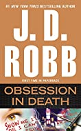 Book Cover: Obsession in Death by J D Robb