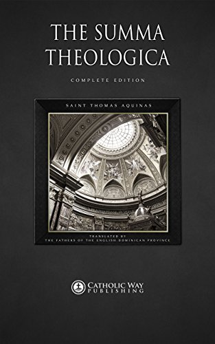 PDF The Summa Theologica Complete Edition