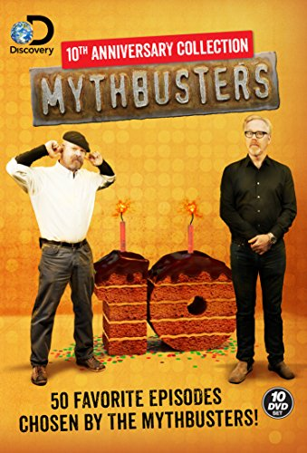 Mythbusters 10th Anniversary Collection cover