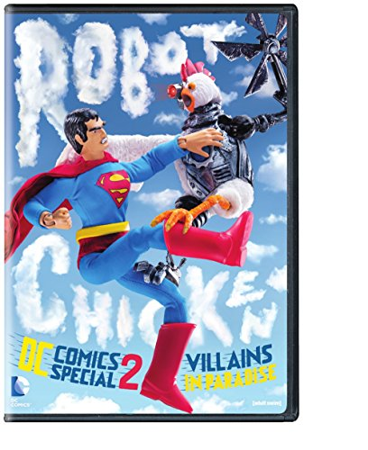 Robot Chicken DC Comics Special 2: Villains in Paradise cover