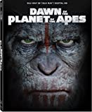 Dawn of the Planet of the Apes [Blu-ray 3D + Blu-ray + Digital HD]