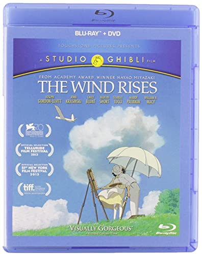 The Wind Rises [Blu-ray] DVD
