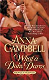 Anna Campbell When a Duke Dares  Cover