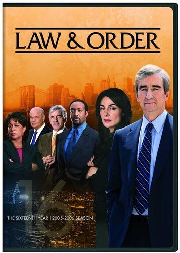 Law & Order: The Sixteenth Year DVD