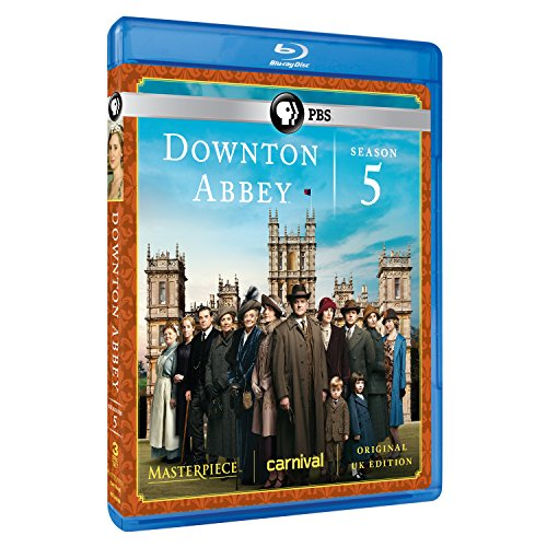 Masterpiece: Downton Abbey Season 5 [Blu-ray] DVD
