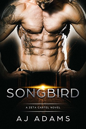 Songbird by AJ Adams. A headless, shirtless man is showing off his dehydrated abs and there is a glowing orb between his legs.