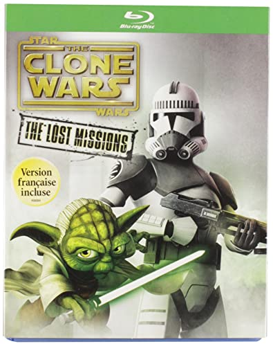 Star Wars: The Clone Wars: The Lost Missions [Blu-ray] DVD