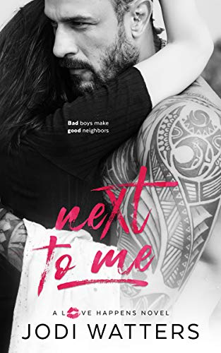 Next to Me by Jodi Watters. A headless dude. His shirt is unbuttoned and he has a hairy chest. But his abs look concerning, like something about to bust through.