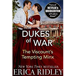The Viscount's Christmas Temptation (Dukes of War Book 1)