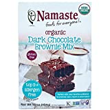 Namaste Foods Gluten Free Organic Dark Chocolate Brownie Mix, 16 Ounce