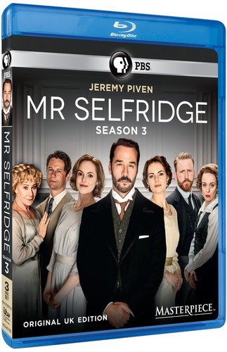 Masterpiece: Mr Selfridge - Season 3 [Blu-ray] DVD