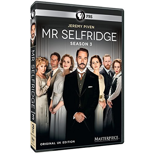 Masterpiece: Mr Selfridge - Season 3 DVD