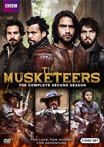 The Musketeers: Season Two DVD