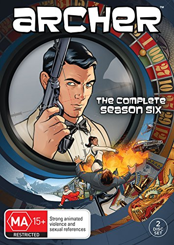 Archer: Season 6 DVD