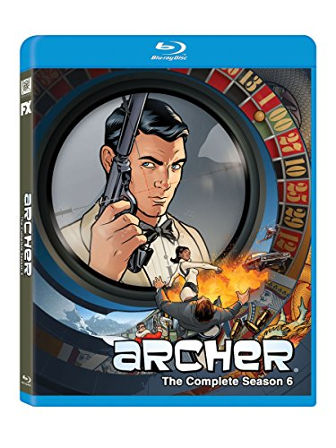 Archer: Season 6 [Blu-ray] DVD