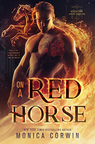 On a Red Horse by Monica Corwin