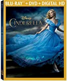 Cinderella (2015) (Blu-ray + DVD + Digital HD) - September 15