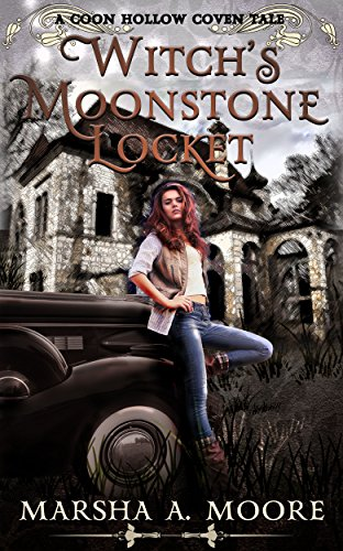 Witch's Moonstone Locket by Marsha A.  Moore