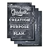 DaySpring Graduation, Chalkboard, 12-Count with Embossed White Envelopes