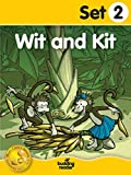 Budding Reader Book Set 2: Wit and Kit (10 books)