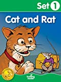 Budding Reader Book Set 1: Cat and Rat (10 books)
