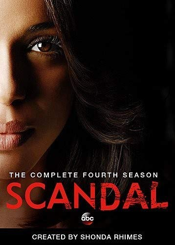 Scandal: The Complete Fourth Season DVD