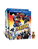 LEGO DC Super Heroes: Justice League: Attack of the Legion of Doom!(Blu-Ray + DVD + Digital HD UltraViolet Combo Pack) w/ Figurine