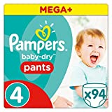 Product Image of Pampers Baby-Dry Pants - Size 4, Pack of 94