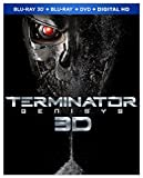 Terminator Genisys (Blu-ray 3D + Blu-ray + DVD + Digital HD) - November 10
