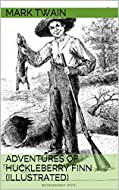Book Cover: The Adventures of Huckleberry Finn by Mark Twain
